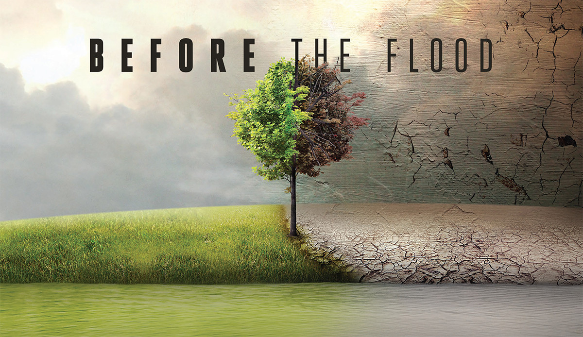 Climate change conversation associated to Before The Flood
